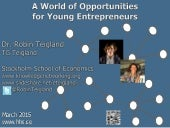 A World of Opportunities for Young Entrepreneurs