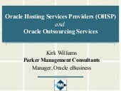 Williams Kirk Oracle Hosted Service...