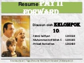 Resume Film Pay It Forward