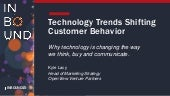 Technology Trends Changing Customer Behavior