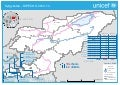 DIPECHO 2012 - 2013 country level school map - Kyrgyzstan
