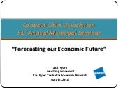 Forcasting Our Economic Future_Kyser