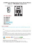 L298 n dual h bridge motor driver board manual