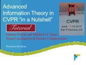 CVPR2010: Advanced ITinCVPR in a Nu...