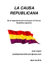 La causa-republicana