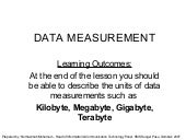 La2 Data Measurement