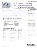 Lab Fact Sheet 2011