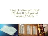 Loren Abraham Selected Product Deve...