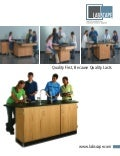 Labscape School Lab Furniture Catalog (2009)