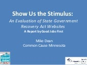 Show Us the Stimulus: An Evaluatio...