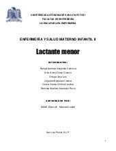 LACTANTE MENOR