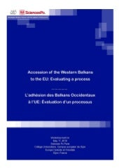 Accession of the Western Balkans to...