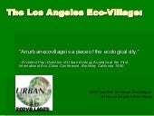 Los Angeles Eco-Village 9/9/08