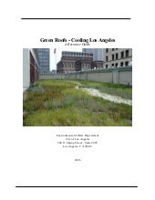 Green Roofs - Cooling Los Angeles: ...