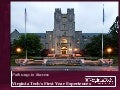 Virginia Tech FYE and ePortfolio