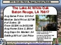 The Lake At White Oak Subdivision Baton Rouge Home Sales August 2014
