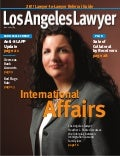 """The International Affair"" LA Lawyer Magazine -Feature Article - Immigration Attorney Heather Poole"