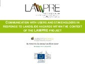 FP7-LAMPRE_Supersites Coordination ...