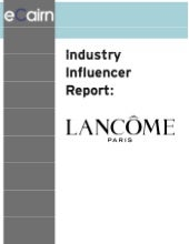 Lancome Report For Mapping Social A...