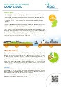 Land and Soil - EPA Ireland Factsheet