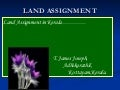 Land Assignment Act.