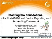 Land sector briner(oecd) accounting-ccxg gf sep2014