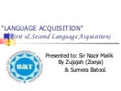 Language acquisition2