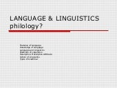 Language  _linguistics