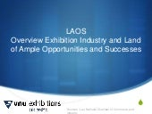 LAOs Overview Exhibition Industry a...