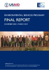 Environmental Services Program. Fin...