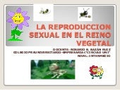 La reproduccion sexual en el reino ...