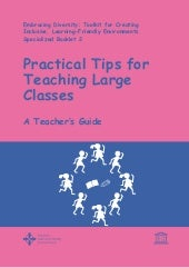 Practical Tips for Teaching Large C...