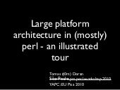 Large platform architecture in (mos...