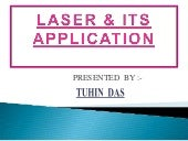 Laser & Its Application
