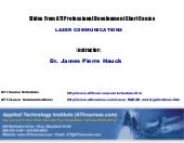 ATI Laser RADAR and Applications Tr...