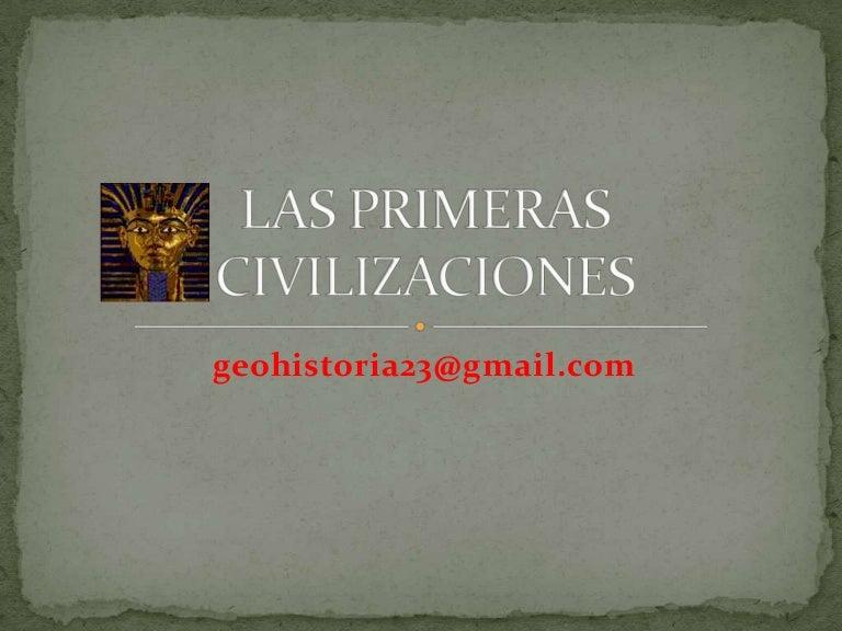 Las primeras civilizaciones (1ºeso)