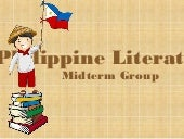 PHILIPPINE LITERARTURE DURING PRE-C...