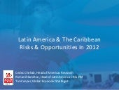Latin America Risks And Opportuniti...