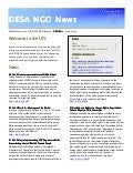 UN DESA NGO Newsletter