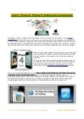 Latest trend of iphone 4 application development