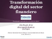 La transformación digital del sector financiero