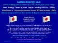 Lattice Energy LLC - Japanese government resumes funding lenr research after 20 year hiatus - August 25 2015