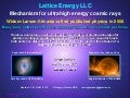 Lattice Energy LLC - Many body collective magnetic mechanism creates ultrahigh energy cosmic rays - Jan 1 2016