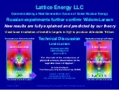 Lattice Energy LLC- New Russian Exp...