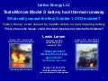 Lattice Energy LLC- Technical Discussion-Oct 1 Tesla Motors Model S Battery Thermal Runaway-October 16 2013