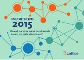 Data-Driven Marketing Predictions 2015