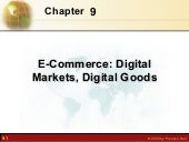E-commerce, digital markets, and di...