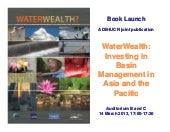 Water Wealth. Investing in Basin Ma...