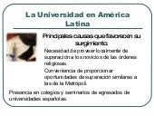 La Universidad En AméRica Latina