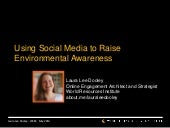 Using Social Media to Raise Environ...